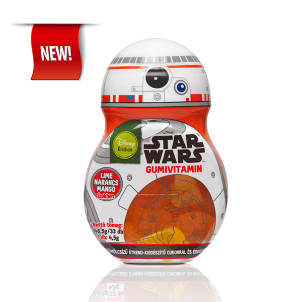 Star Wars BB-8 Gummy vitamin