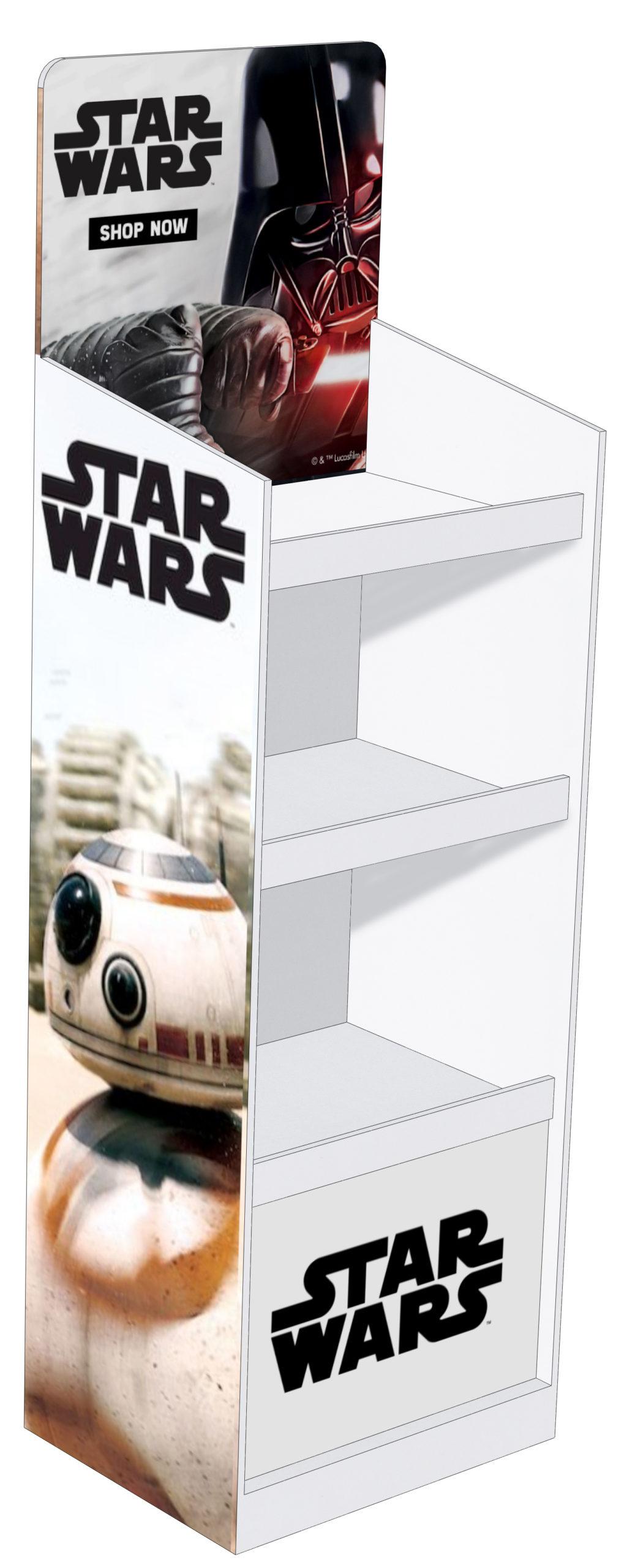 display stand_narrow model