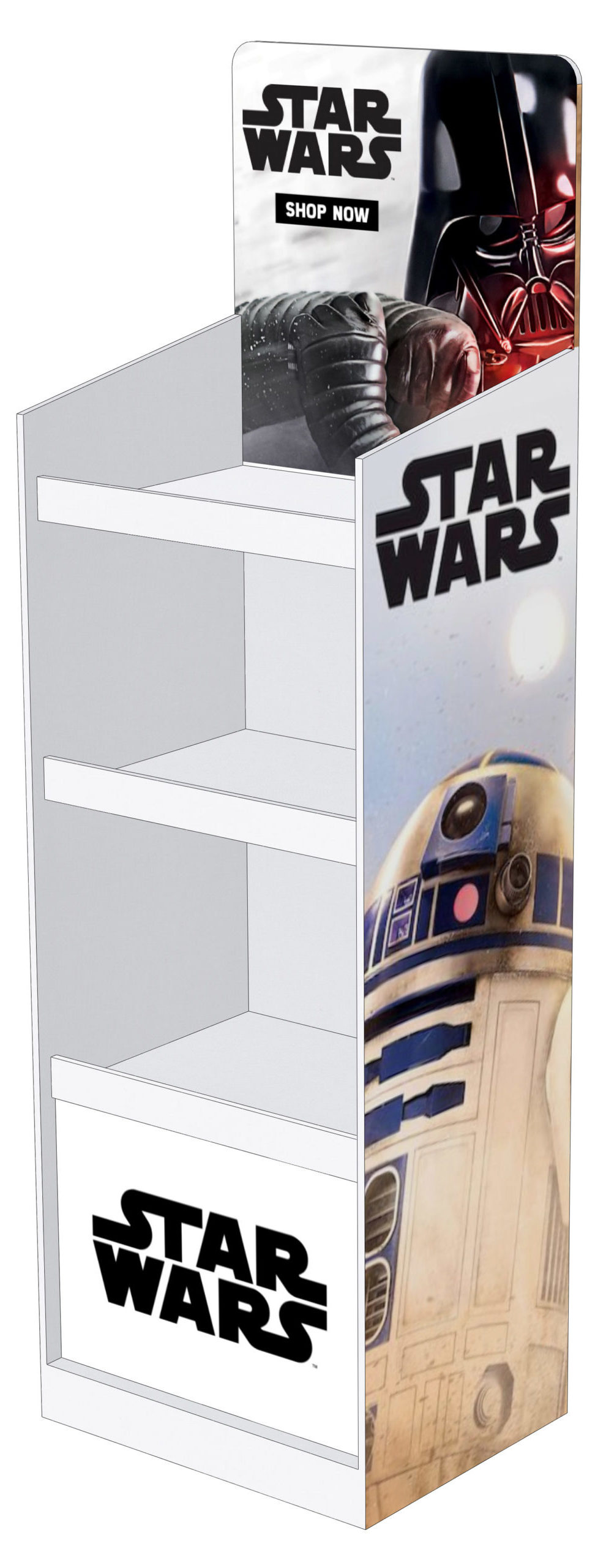 Display Stand for 12 boxes